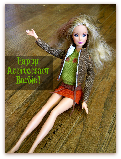 Happy Anniversary, Barbie DearKidLoveMom.com